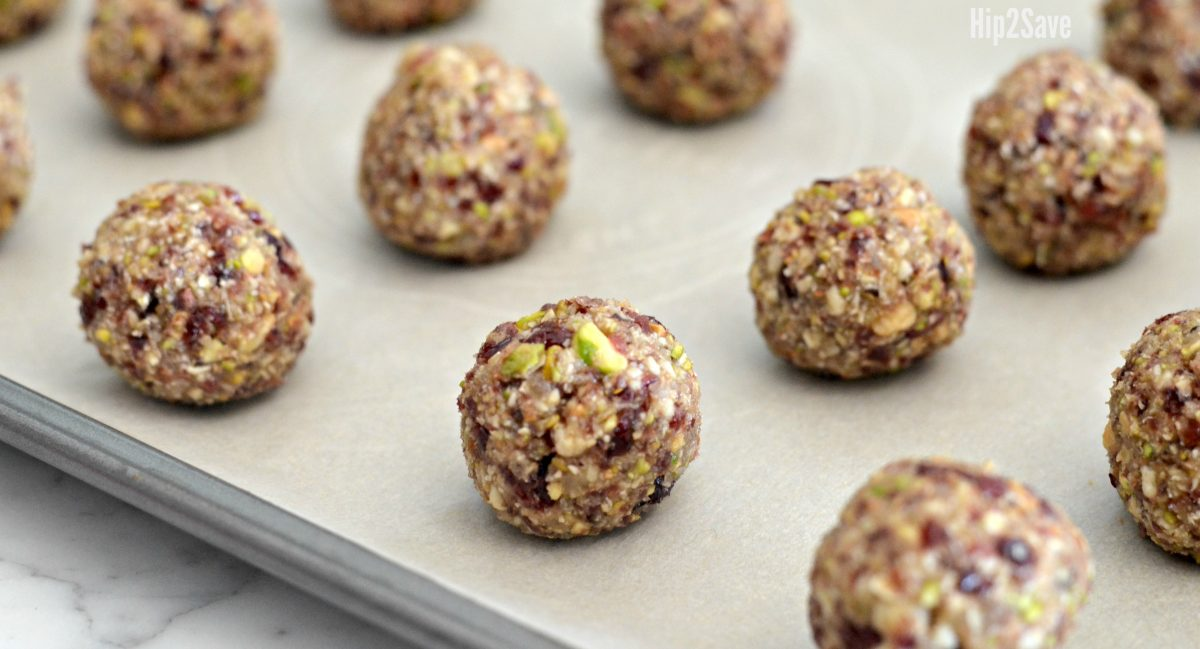 pistachio recipe for energy bites