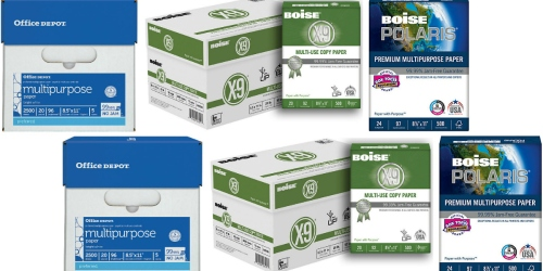 Office Depot/OfficeMax: Paper Reams Only 80¢ Each (After Bonus Rewards )