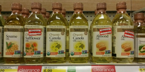 Target: Spectrum Cooking Oils Possibly Just $2.44 (Regularly $6.99)