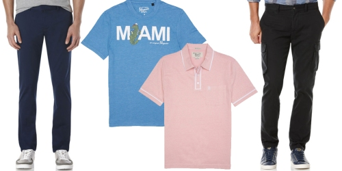 Original Penguin: Men's Tees Only $7.99, Polos & Pants Only $15.99 & More