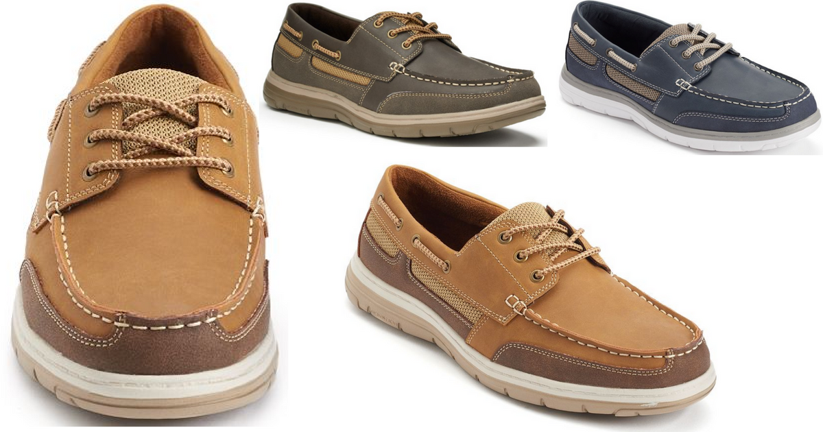 Croft \u0026 Barrow Men's Boat Shoes Only