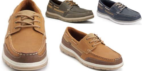 Kohl's: Croft & Barrow Men's Boat Shoes Only $27.99 (Regularly $74.99)