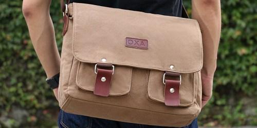 Amazon: OXA Vintage Canvas Cross Body Messenger Bag Only $16.79