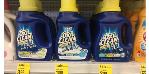 *NEW* $2/1 OxiClean Laundry Detergent Coupon = Only $1.99 at Walgreens & Rite Aid