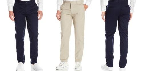 Amazon: IZOD Uniform Men's Slim Pants Starting at Only $6.17 (Regularly $24.99)