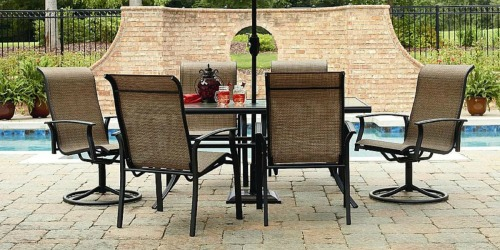 Sears.com: Garden Oasis Harrison 7-Piece Dining Set Only $289 (Regularly $599.99)
