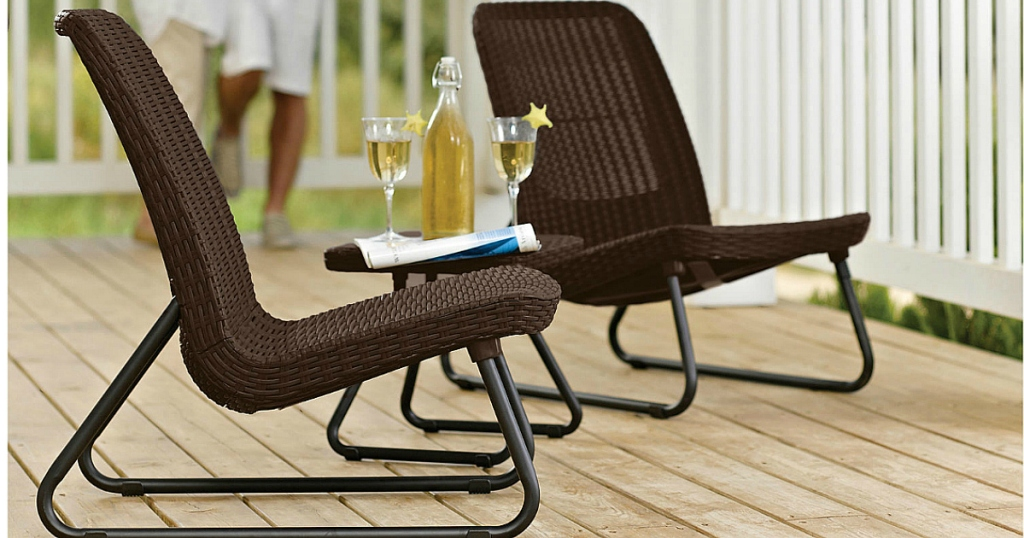Enjoyable Sears Com 3 Piece All Weather Outdoor Patio Chair Set Only Download Free Architecture Designs Embacsunscenecom