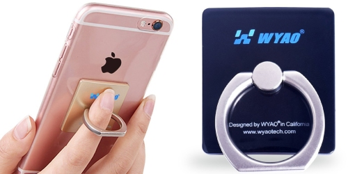 Amazon: Smartphone Ring Holder/Stand Only $7.99 + More Great Deals