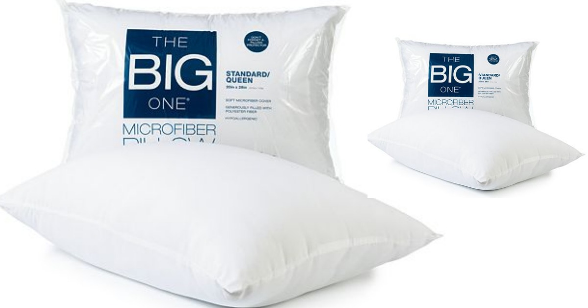 Kohl's Cardholders: The Big One Microfiber Queen Pillow