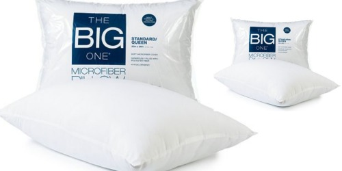Kohl's Cardholders: The Big One Microfiber Queen Pillow Only $2.79 Shipped (Regularly $11.99)
