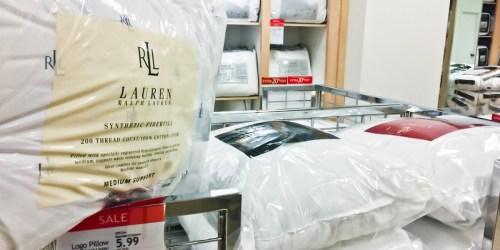 Macy's: Ralph Lauren Pillow Only $5.99 (Regularly $30)