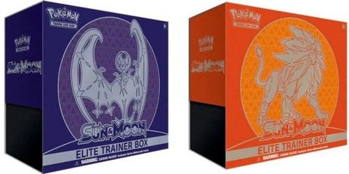 Amazon: Pokémon Sun & Moon Elite Trainer Box Only $29.90