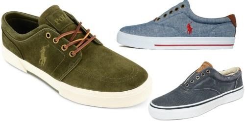 Macy's: Polo Ralph Lauren Men's Sneakers Only $19.54 (Regularly $79) + More
