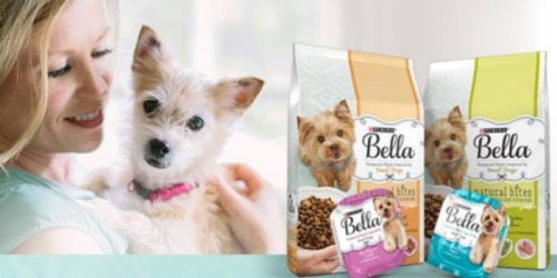 Six New Purina Bella Coupons = 34¢ Wet Dog Food Trays At Target & More