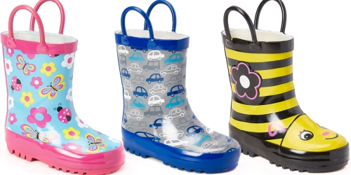 Zulily: Super Cute Kids' Rain Boots Only $9.99 Shipped (With Visa Checkout) + More