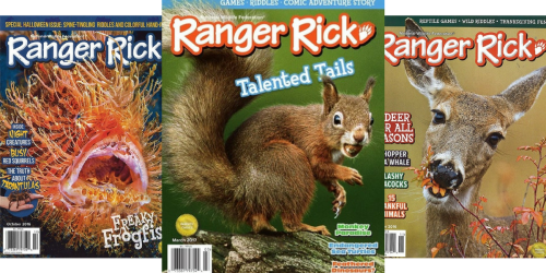 Ranger Rick Magazine ONLY $10 Per Year (Just 99¢ Per Issue)