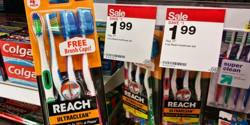 Reach Toothbrushes ONLY 50¢ Each at Target (No Coupons Needed), In-Store & Online