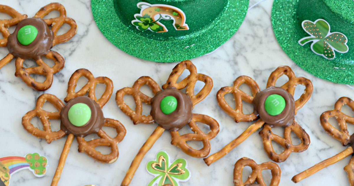 pretzel treats for st patrick's day snacks