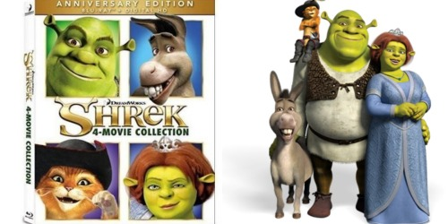 Best Buy: Shrek 4 Movie Blu-Ray Collection Only $17.99 (Regularly $44.99)
