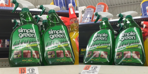 High Value $1.50/1 Simple Green Coupon = All-Purpose Cleaner Only 47¢ At Walmart