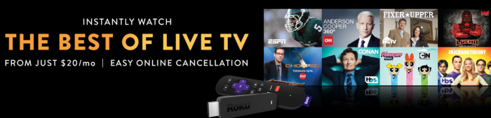 Sling Tv Free Roku Express When You Prepay For 2 Months
