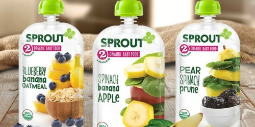 New Sprout Baby Food Coupons = Organic Pouches Only 67¢ at Target