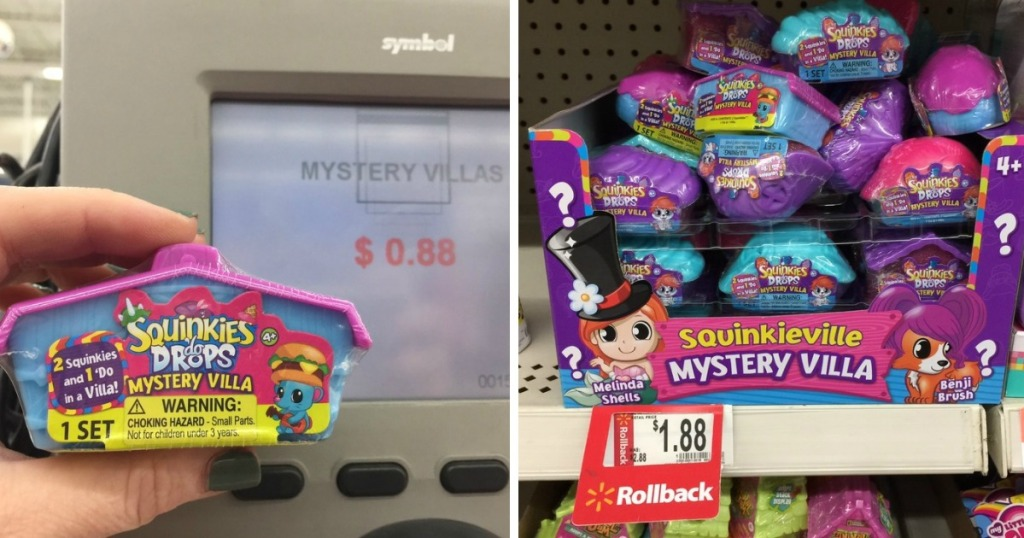 Walmart Shoppers! Possibly Score Squinkies 'do Drops Mystery Villa