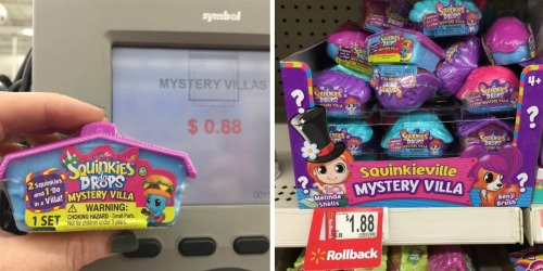 Walmart Shoppers! Possibly Score Squinkies 'do Drops Mystery Villa Toys For Only 88¢