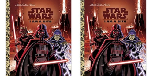 Amazon: Star Wars I Am a Sith Little Golden Hardcover Book Only $2.11 (Regularly $4.99)