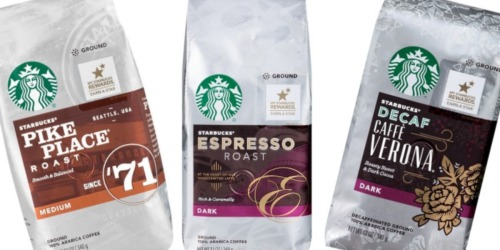 Target.com: Starbucks Ground or Whole Bean Coffee 12 Oz Bags Only $3.92 (After Gift Card)