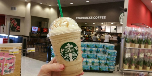 Target Shoppers! Score 25% Off Starbucks Frappuccino Blended Beverages