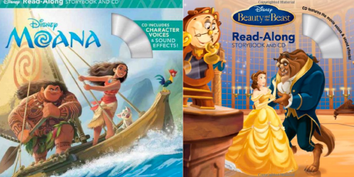 Moana Or Beauty & The Beast Read-Along Storybook & CD Only $3.73 (Best Price)