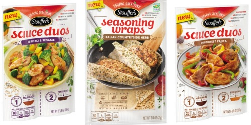 Meijer mPerks: Possible FREE Stouffer's Seasoning Wraps or Sauce Duos eCoupon