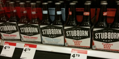 Target Shoppers! Save 50% Off Stubborn Soda – Only 60¢ Per Bottle