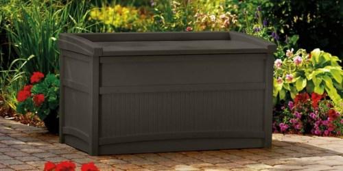 Suncast 50-Gallon Deck Box Just $59 Shipped at Walmart