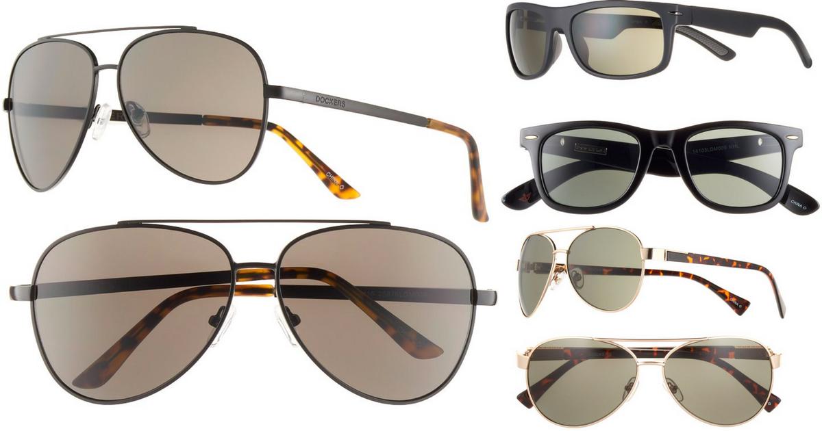 c1eb08122ed Kohl s Cardholders  Men s Docker s Sunglasses Only  5.13 Each (Regularly   30) - Hip2Save