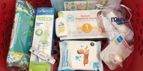 Target: Create Free Baby Registry AND Score Free $50 Welcome Gift Pack w/ Diapers, Bottle & More