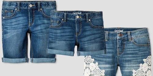 Target.com: 25% Off Kids Denim Including Cat & Jack Brand = Jeans & Shorts Only $7.49
