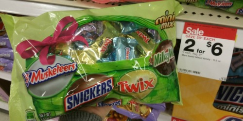 Target: Mars Easter Fun Size or Mixed Candy Packages ONLY $1.45 Each (Regularly $3.59)