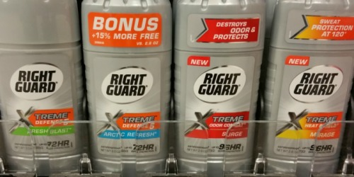 Target: Right Guard Xtreme Deodorant As Low As $1.24 Each