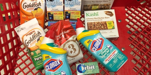 Target Shoppers! Score 10 Items for UNDER $10 (Using Cartwheels, Coupons, Rebates & Gift Card)