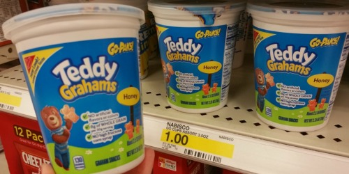 Target Shoppers! Score FREE Teddy Grahams Go Pak