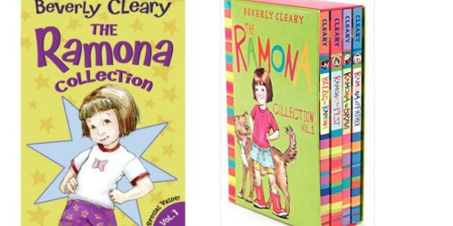 The Ramona Collection Box Set by Beverly Cleary Only $9.99 (Regularly $22.99)
