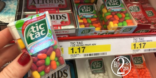 Target: FOUR Tic Tac Mint Packs Only 1¢