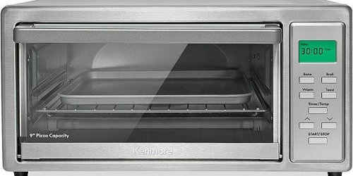 Sears: Kenmore 4-Slice Stainless Steel Toaster Oven Just $29.99 (Reg. $54.99) + Earn $10 in Points