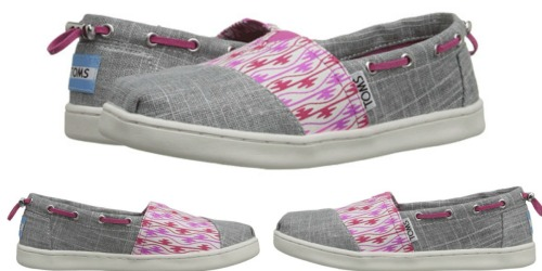 6PM.com: TOMS Kids Shoes Only $21 Shipped (Regularly $42)