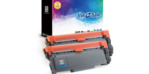 Amazon: INK E-Sale Brother Compatible High Yield Toner Cartridge 2-Pack Only $14.82 (Just $7.41 Each)