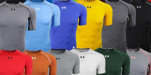 Under Armour Men's T-Shirt 3-Pack Only $36 Shipped – Just $12 Each