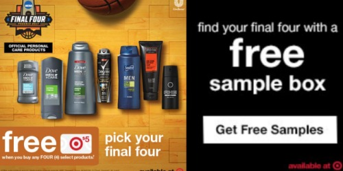 *HOT* FREE Unilever Sample Box from Target (+ In-Store Deal Ideas)