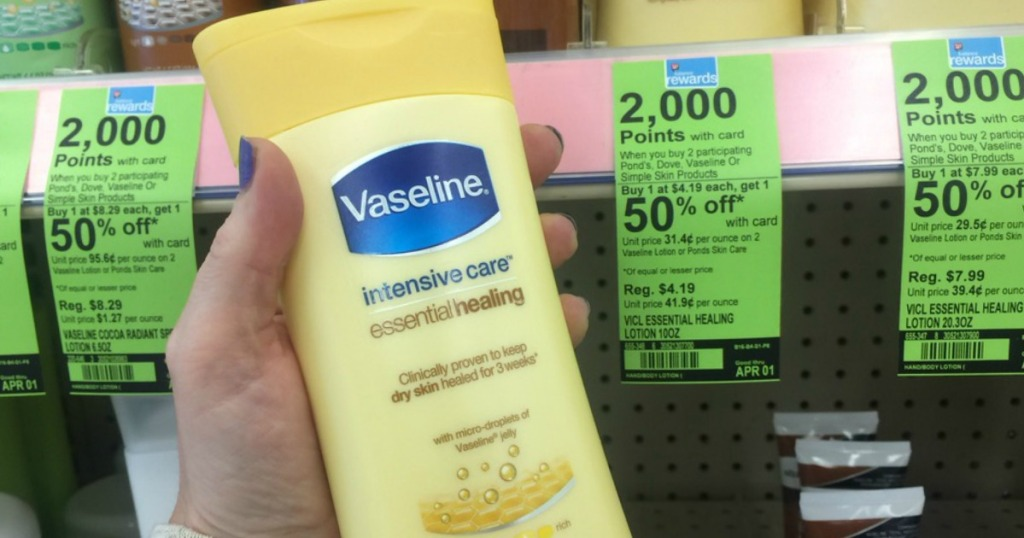Vaseline Intensive Care lotion